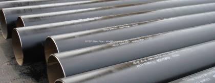 API 5L Grade B PSL1 ERW Steel Pipe