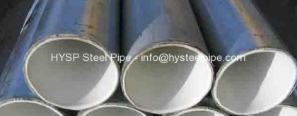 ASTM A53 Steel Pipe Mill OD 323.9 x 9.53 DRL