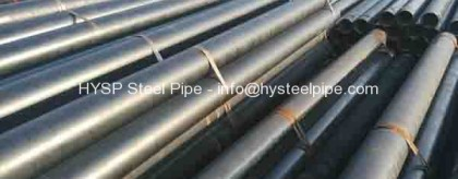 ASTM A53 Steel Pipe Spec Diameter 219.1mm Tube