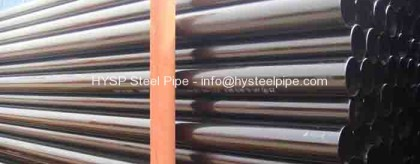 A252 Grade 2 ERW Piling Pipe Size 12″ x 10mm DRL
