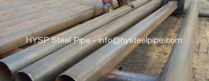 EN10219 Grade S235JR Steel Tube OD 323mm DRL Pipe